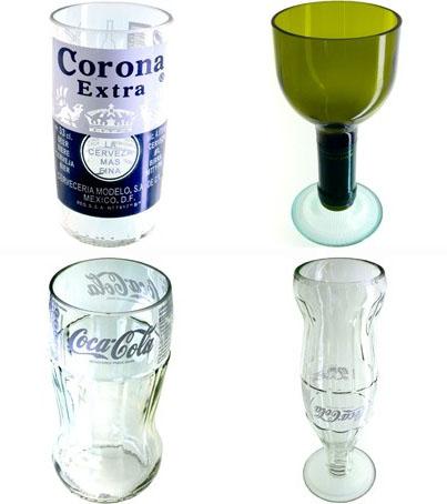 Me gusta reciclar c mo hacer vasos con botella de cristal ecolisima economia medio - Fabrica de floreros de vidrio ...