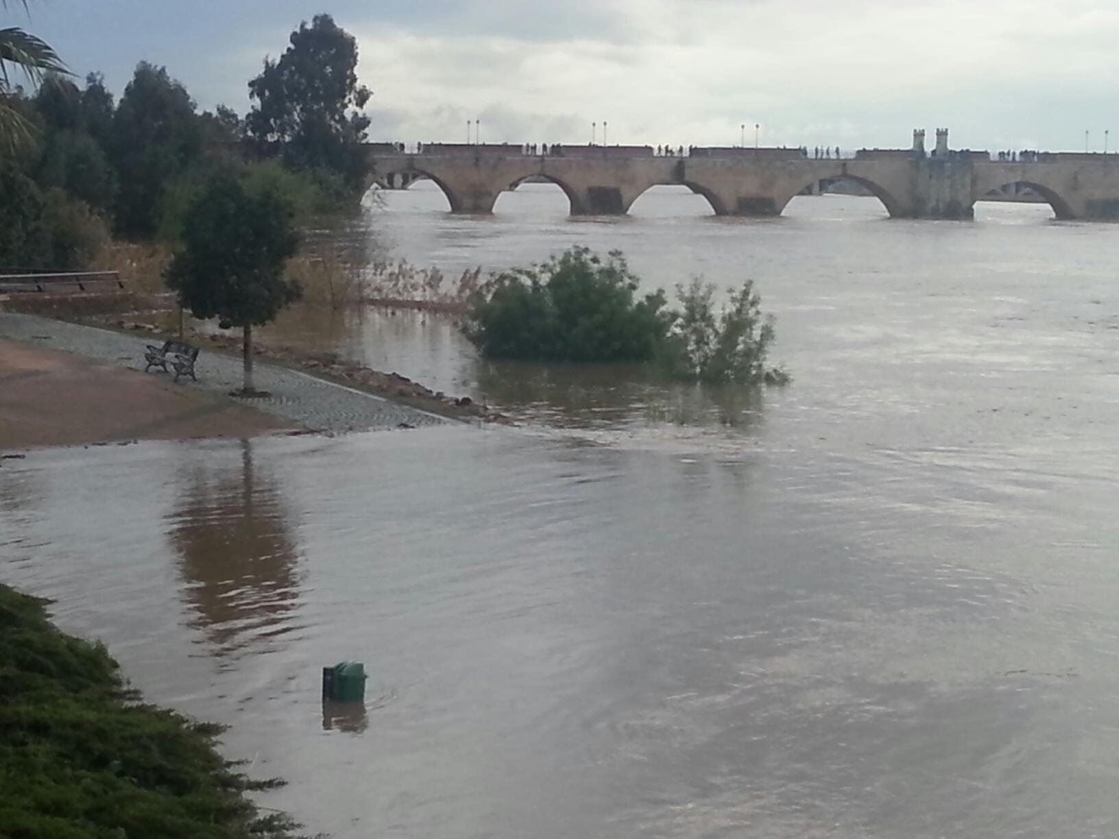 Paseo fluvial de Badajoz.