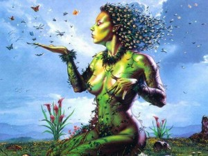 GEA o Madre Tierra, era la gran diosa de la antigua Grecia.