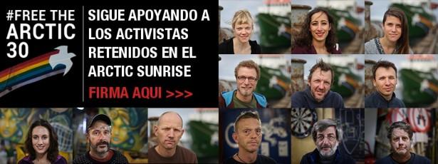 Activistas Greenpeace