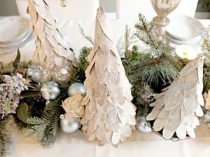 Árbol de Navidad Reciclado