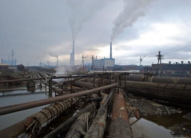 Contaminación ciudad Norilsk