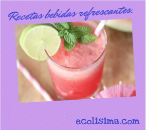 Recetas zumos refrescantes